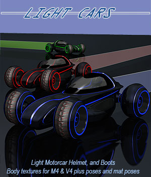 Light Cars - Extended License 3D Models Extended Licenses 3D Figure Assets Simon-3D