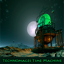 Technomages Time Machine Props/Scenes/Architecture Software Themed 1971s