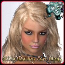 COLORation SAV Alpha Hair Themed ArtOfDreams