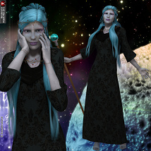 Spirit Of The Stars Poses Pack For V4 image 1