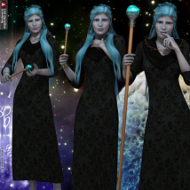 Spirit Of The Stars Poses Pack For V4 image 4