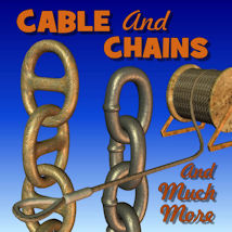 Cable And Chains 3D Models pappy411