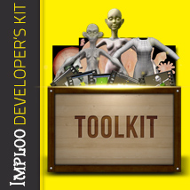 Imploo Developer's Kit 2D Graphics Tutorials : Learn 3D 3D Figure Assets ironman13