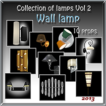 Wall lamp 3D Models Software tuketama