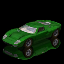 Ford GT40 (Poser/ Vue) Transportation Themed Digimation_ModelBank