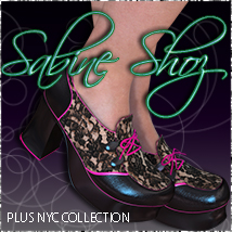 SabineStylz Shoz +NYC Collection 3D Figure Essentials 3DSublimeProductions