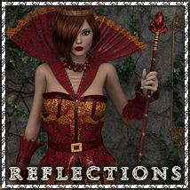 Reflections 3D Figure Assets 3D Models sandra_bonello
