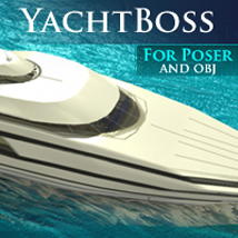 YachtBoss Transportation Props/Scenes/Architecture Themed shawnaloroc