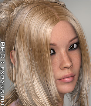 PHC : Nykta Themed Hair Software P3D-Art
