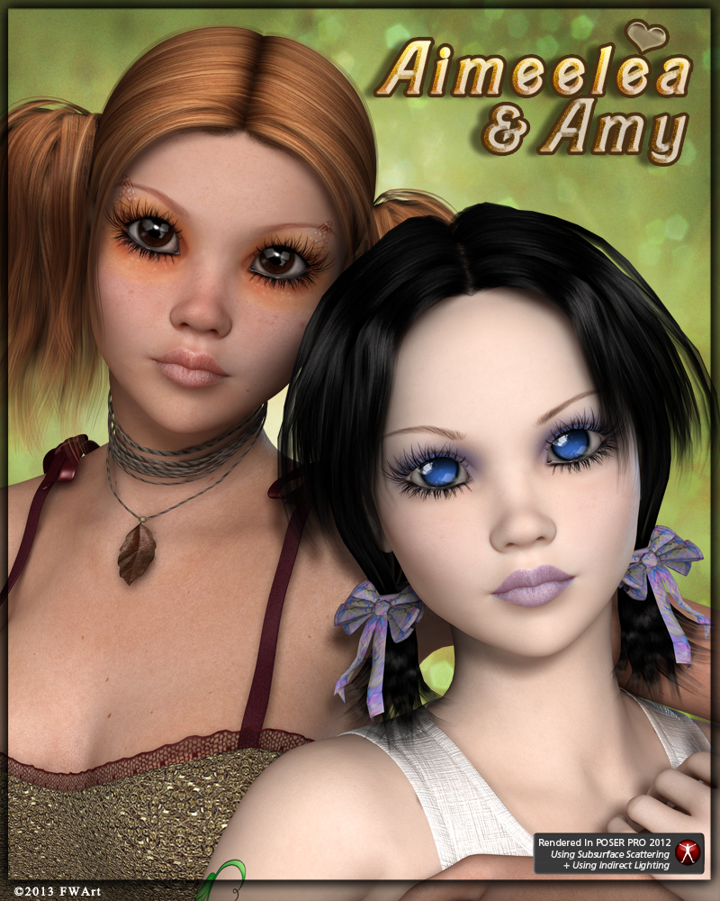 FW Aimeelea and Amy for Aiko 4 / Victoria 4.2 / A4 V4