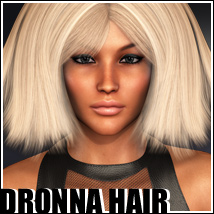Dronna Hair Themed Hair outoftouch
