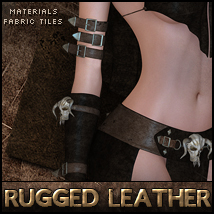 Rugged Leather Resource & Materials Themed 2D And/Or Merchant Resources Sveva