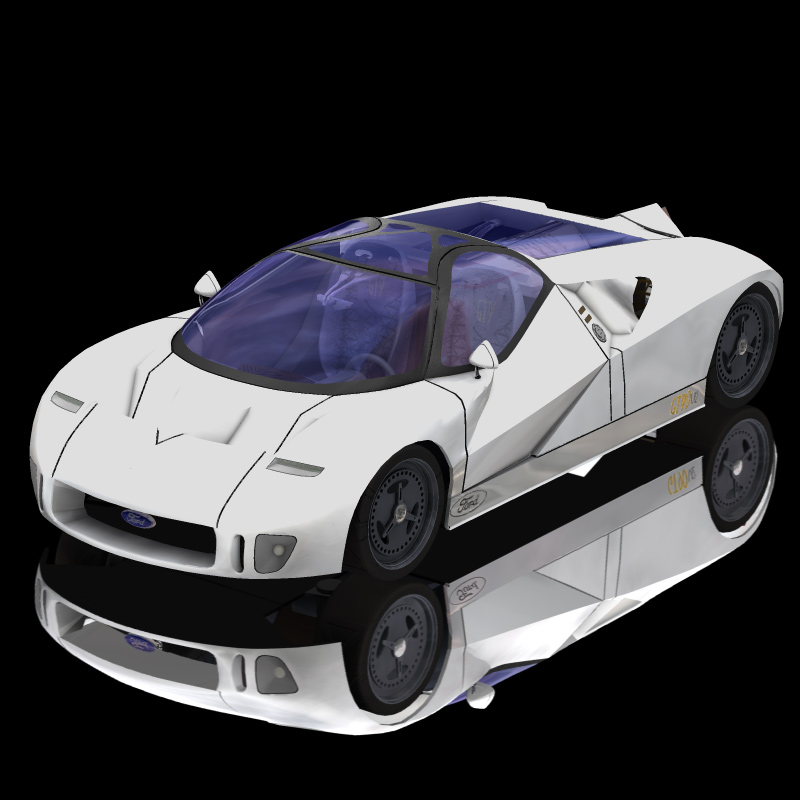Ford GT90 (for Poser and Vue)