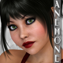FR Anemone 3D Figure Essentials Freja