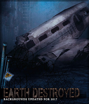 Earth Destroyed 2D Graphics Sveva