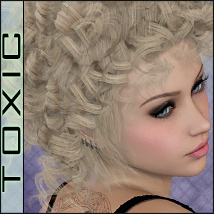 ToXic Lavender Hair Software Themed Silver