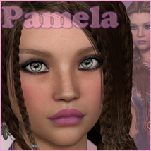 P3D Pamela Characters Software P3Design