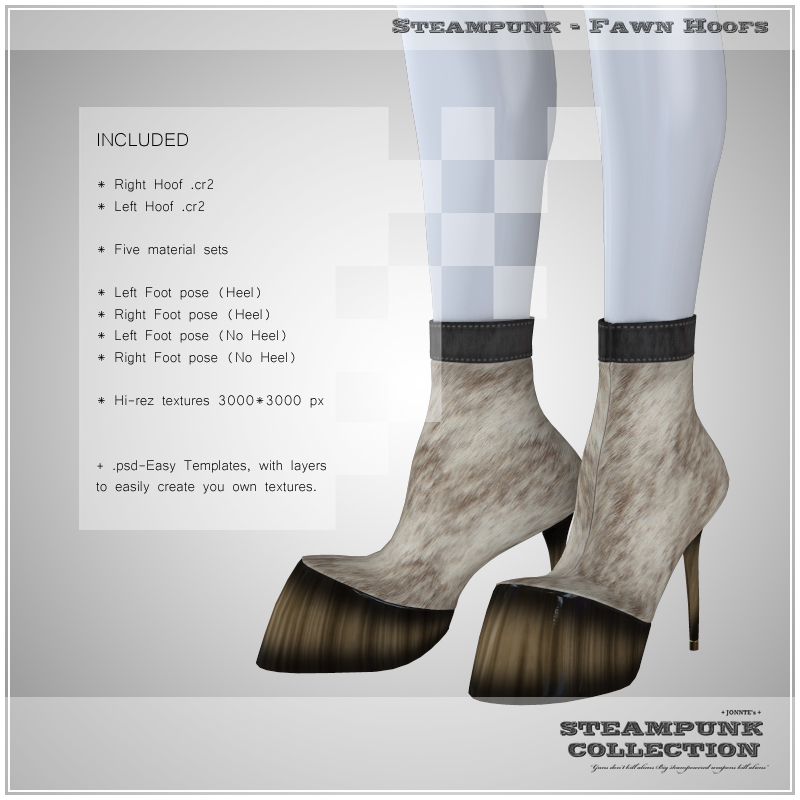 SP - Fawn Hoofs for V4