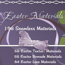 April 2013 Easter materials 2D 3D Models WhopperNnoonWalker-