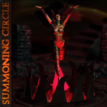 SUMMONING CIRCLE 3D Models ironman13