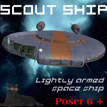 Scout Ship 3D Models Michael_C
