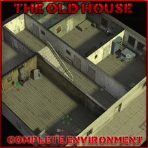 Old House by 3-D-C Props/Scenes/Architecture Software Themed 3-d-c