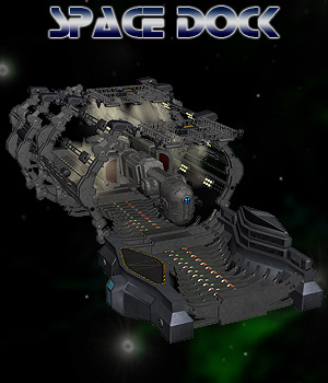 Space Dock Props/Scenes/Architecture Software Themed Simon-3D