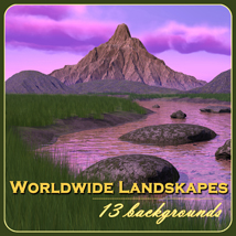 Worldwide Landscapes Themed 2D And/Or Merchant Resources mist43