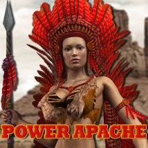 Power Apache 3D Figure Assets 3D Models powerage