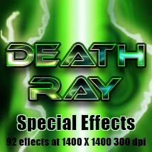 Death Ray special effects 2D Graphics TheToyman