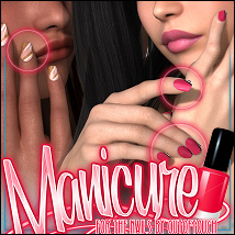 Manicure for The Nails V4 3D Models ShanasSoulmate