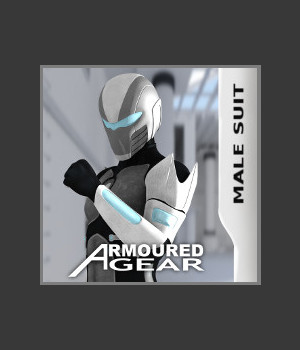 Armoured Gear Male Suit Clothing Themed Characters TruForm
