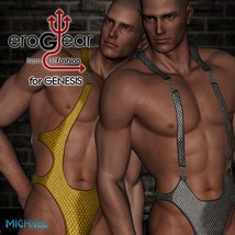 DZ EroGear Set 3 for Genesis 3D Figure Essentials dzheng