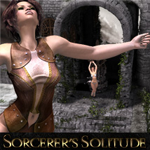 Sorcerer's Solitude 3D Figure Essentials 3D Models Software ironman13