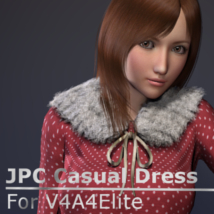 JPC Casual Dress 3D Figure Essentials jinpachi