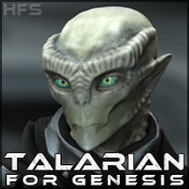 HFS Races: Talarian 3D Figure Essentials 3D Models DarioFish