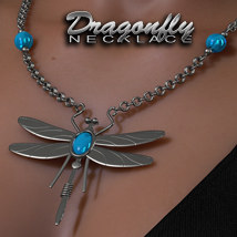 Exnem Dragonfly Necklace Accessories Themed Props/Scenes/Architecture Software exnem