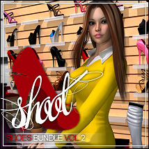 SHOOT Shoes Bundle Vol.2 3D Figure Assets ShanasSoulmate