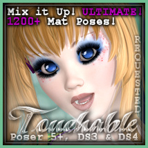 Touchable Hr-103 Hair Themed -Wolfie-