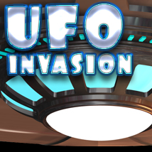 UFO Invasion 2D Graphics TheToyman