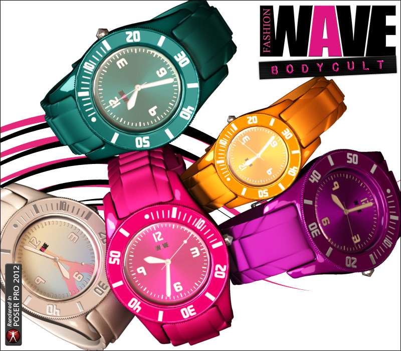 FASHIONWAVE Bodycult Volume 2 - Watches