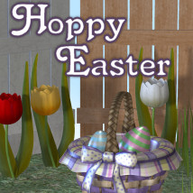 Hoppy Easter 3D Models 3D Figure Essentials JudibugDesigns