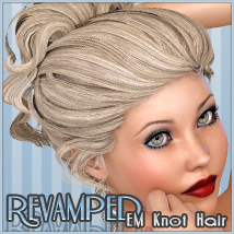 Revamped EM Knothair 3D Figure Essentials Freja