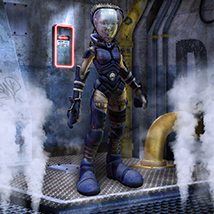 Imploo Explorer 3D Figure Assets 3D Models ironman13