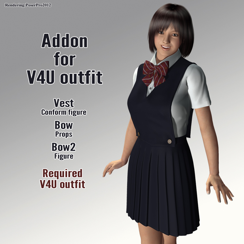 Addon for V4U outfit
