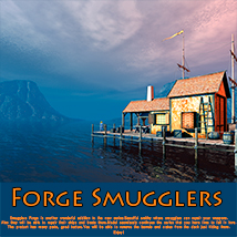 Forge Smugglers Software Themed Props/Scenes/Architecture 1971s