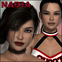 FWPD Nadia 3D Figure Essentials P3Design