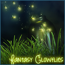 Fantasy Glowflies Software 3D Models Sveva