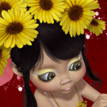 DA-GardenFairy  for Kiki Nature 3D Models 3D Figure Essentials DarkAngelGrafics