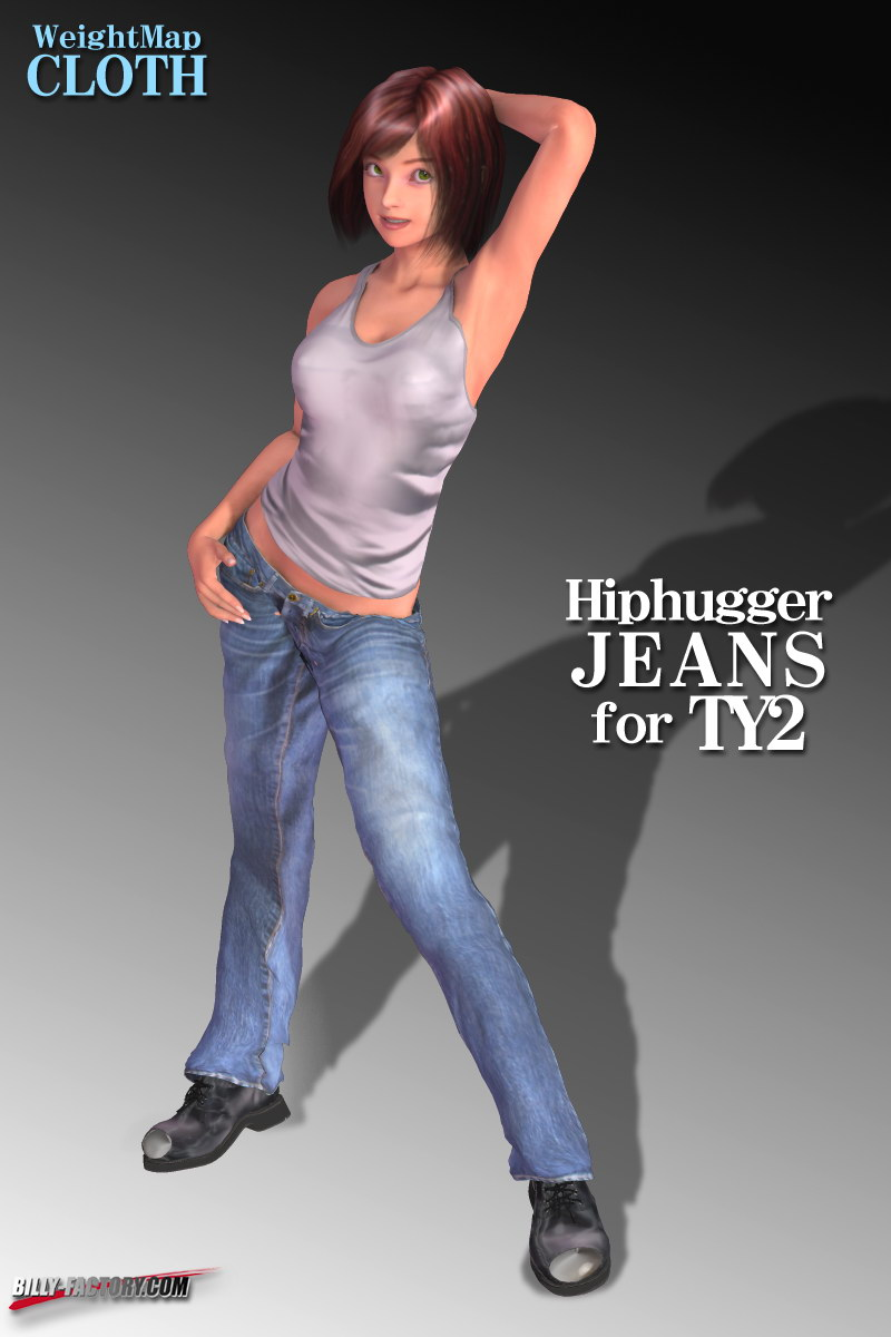 TY2 Hiphugger Jeans by billy-t